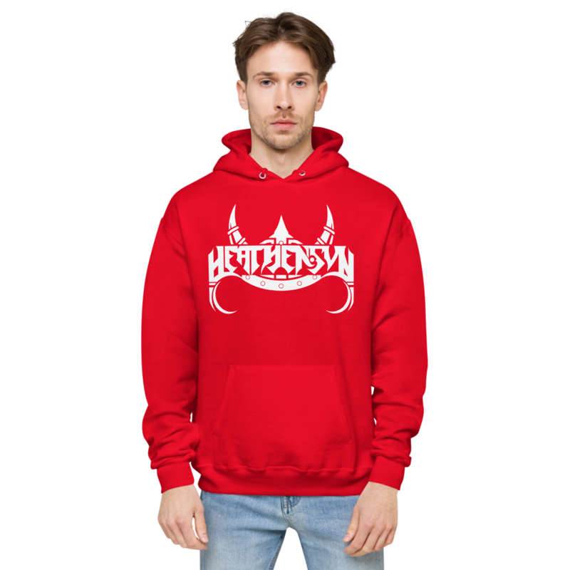 Heathensun Unisex fleece hoodie
