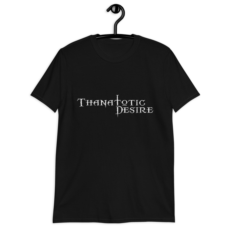 Thanatotic Desire logo Short-Sleeve Unisex T-Shirt