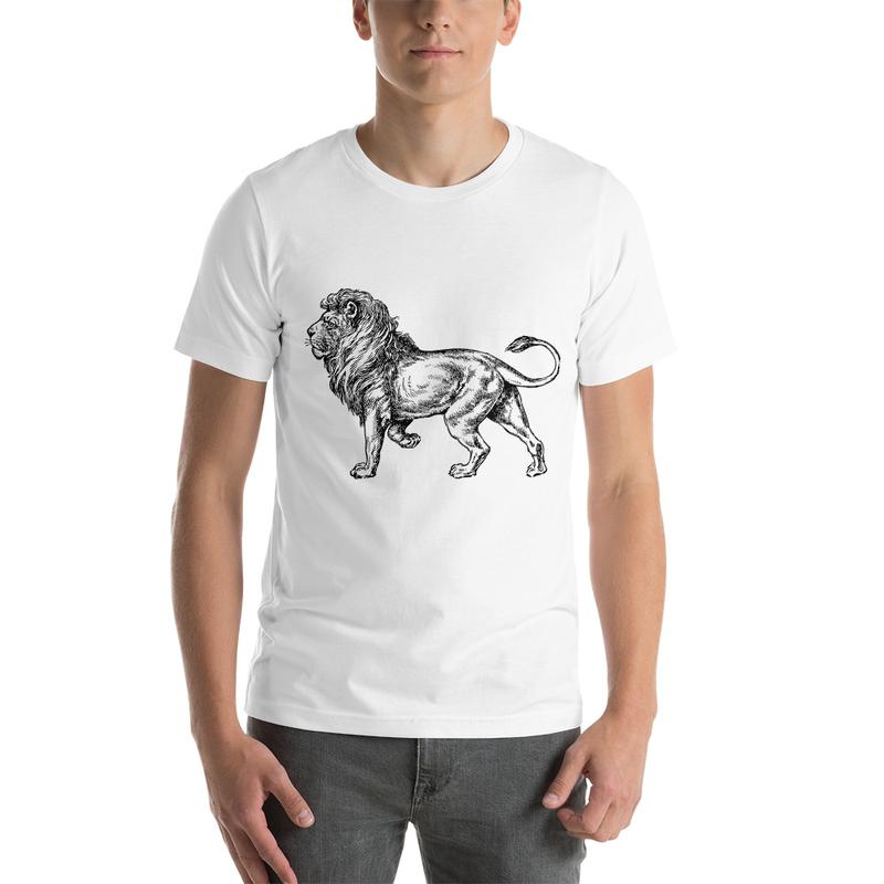 Casanova Lion Short-Sleeve Unisex T-Shirt