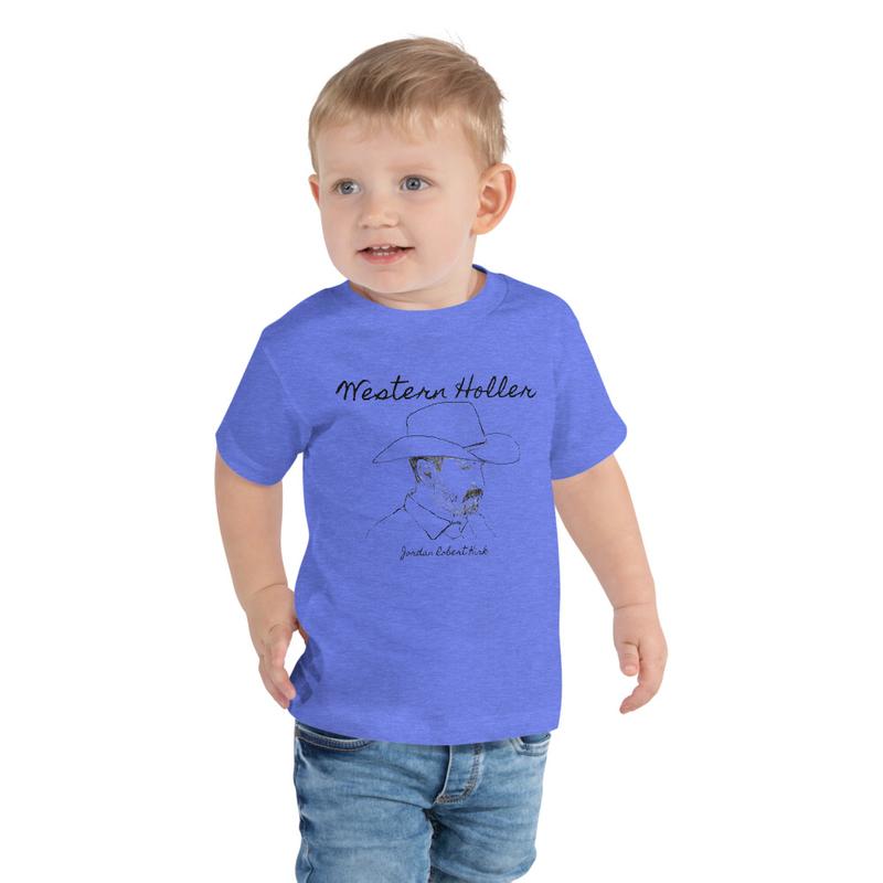 Western Holler Toddler Short Sleeve Tee