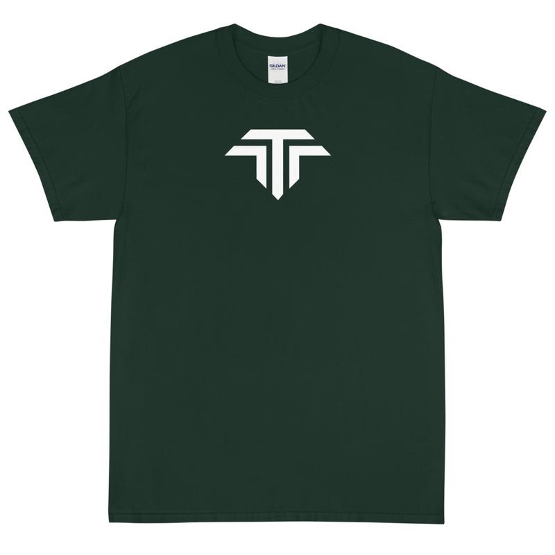 Unisex Short Sleeve T-Shirt - White Icon Logo
