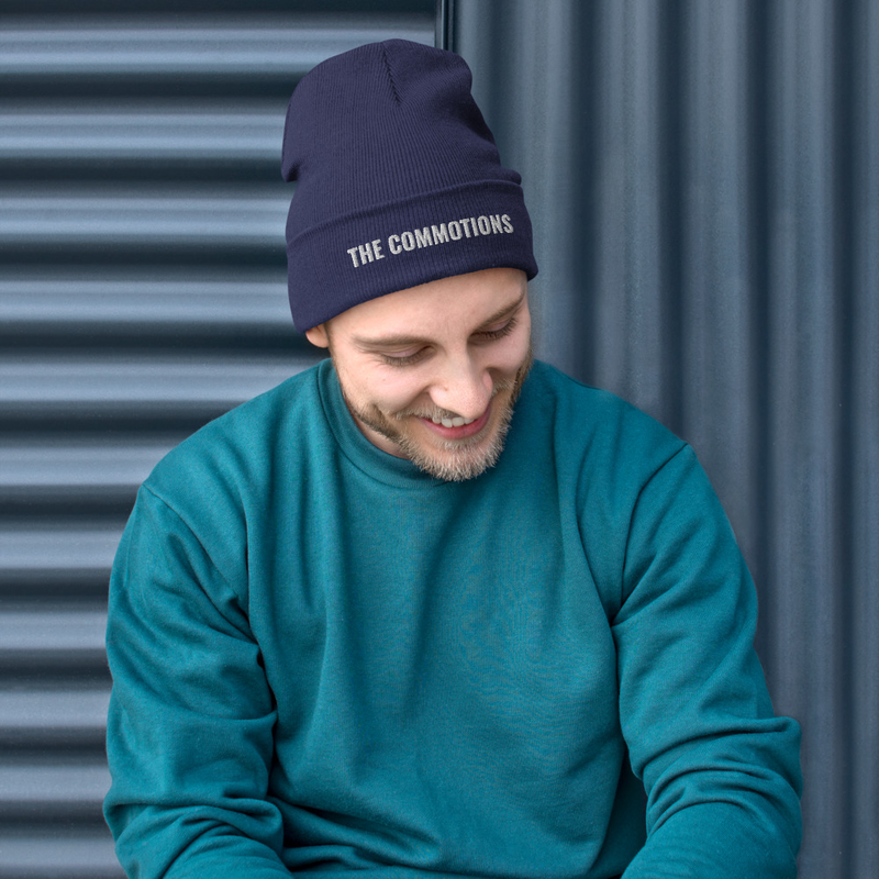 The Commotions - Embroidered Beanie