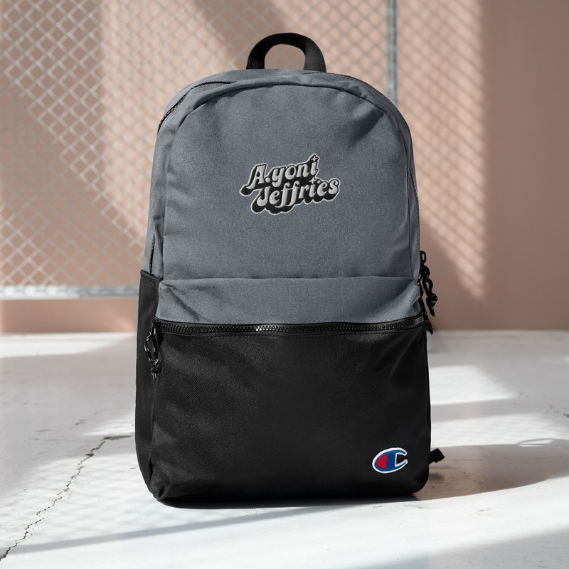 AJ Embroidered Champion Backpack