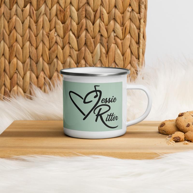 Green Jessie Ritter Logo Mug