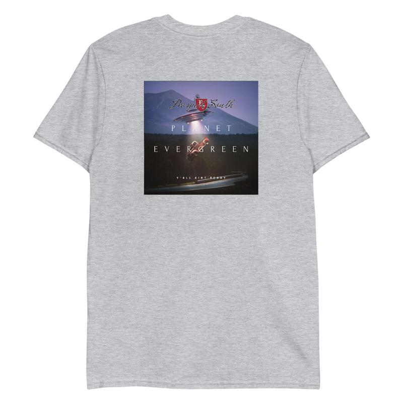 Planet Evergreen Short-Sleeve Unisex T-Shirt
