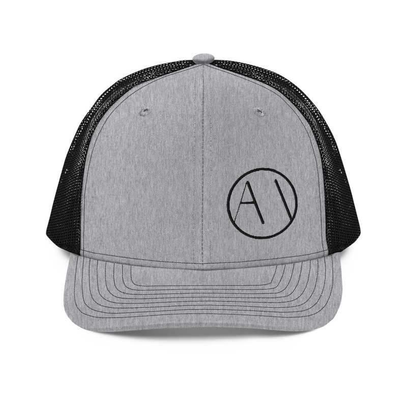 AMO Trucker Hat | Richardson 112 | Black Logo