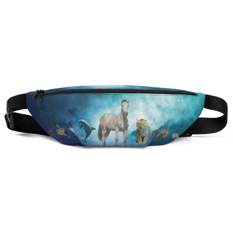 Secrets of a Psychedelic Homestead Fanny Pack