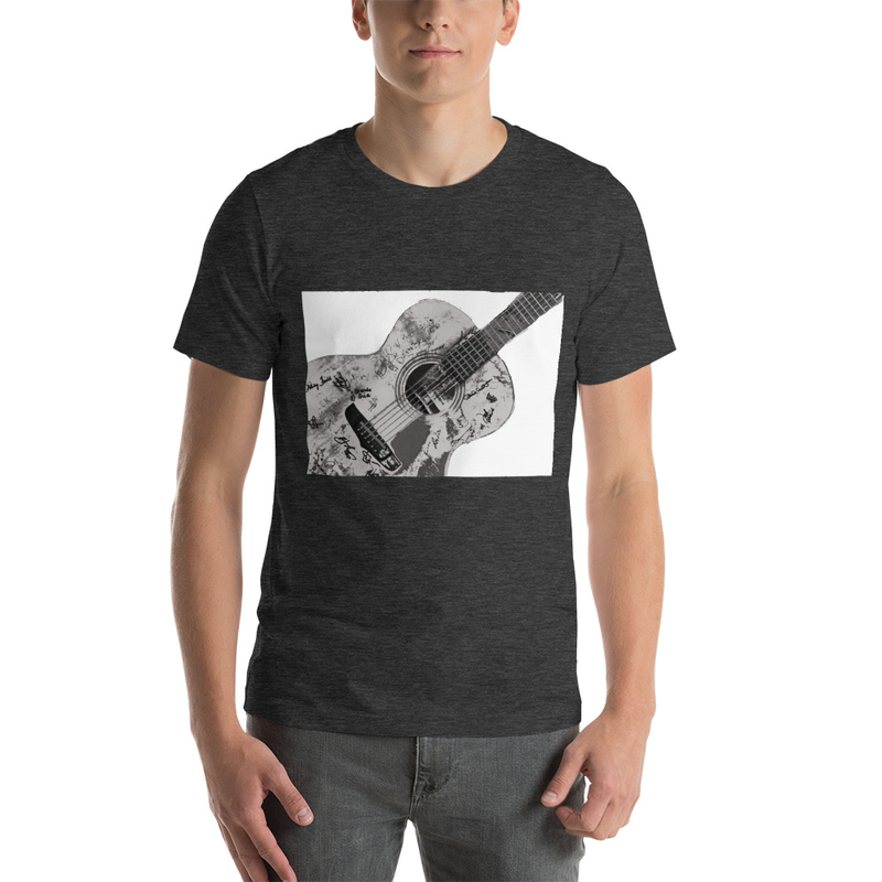 AC0111 guitar T shirt