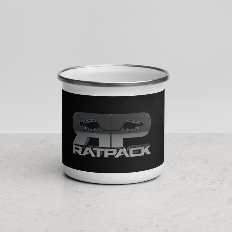 RatPack Enamel Mug