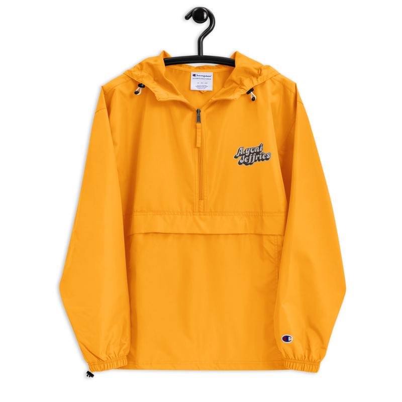 AJ Embroidered Champion Windbreaker Jacket