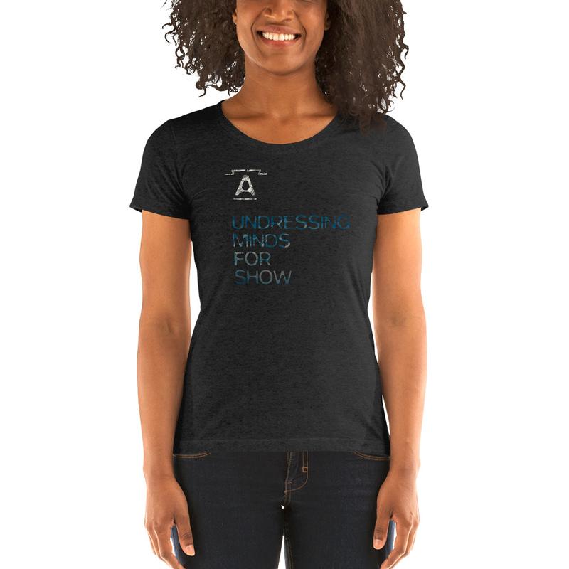 """A"" logo & UMFS - ladies' short sleeve t-shirt"