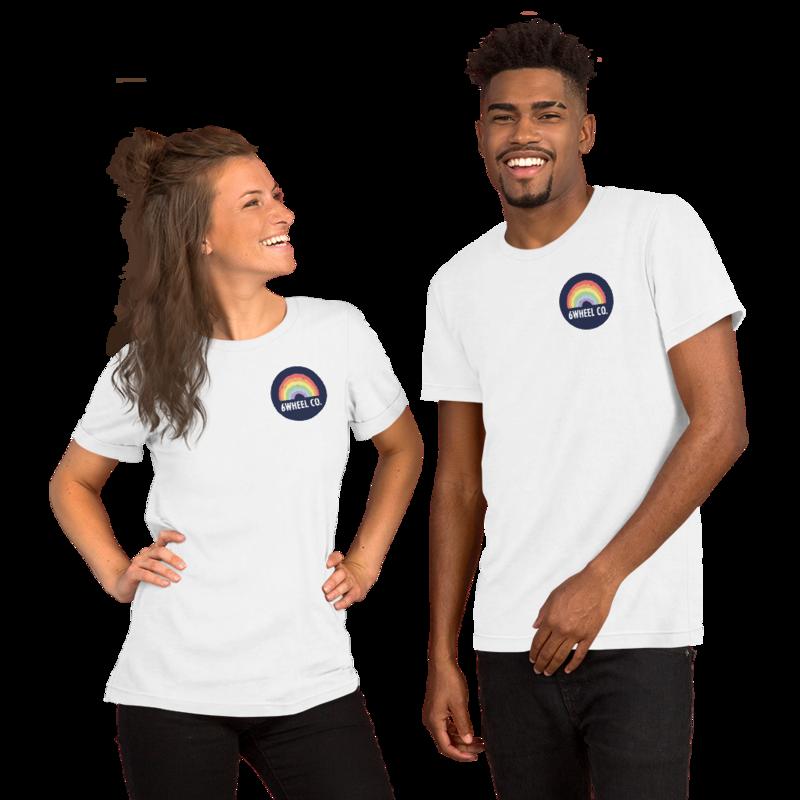 Short-Sleeve Unisex T-Shirt 6Wheel CO