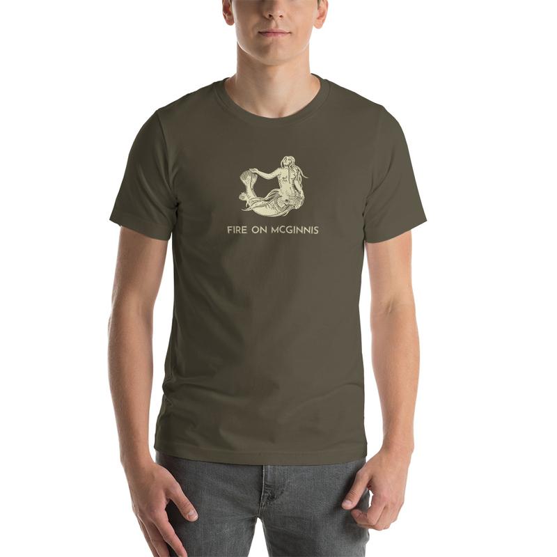 Fire on McGinnis Selkie Unisex Premium T-Shirt - Bella + Canvas 3001