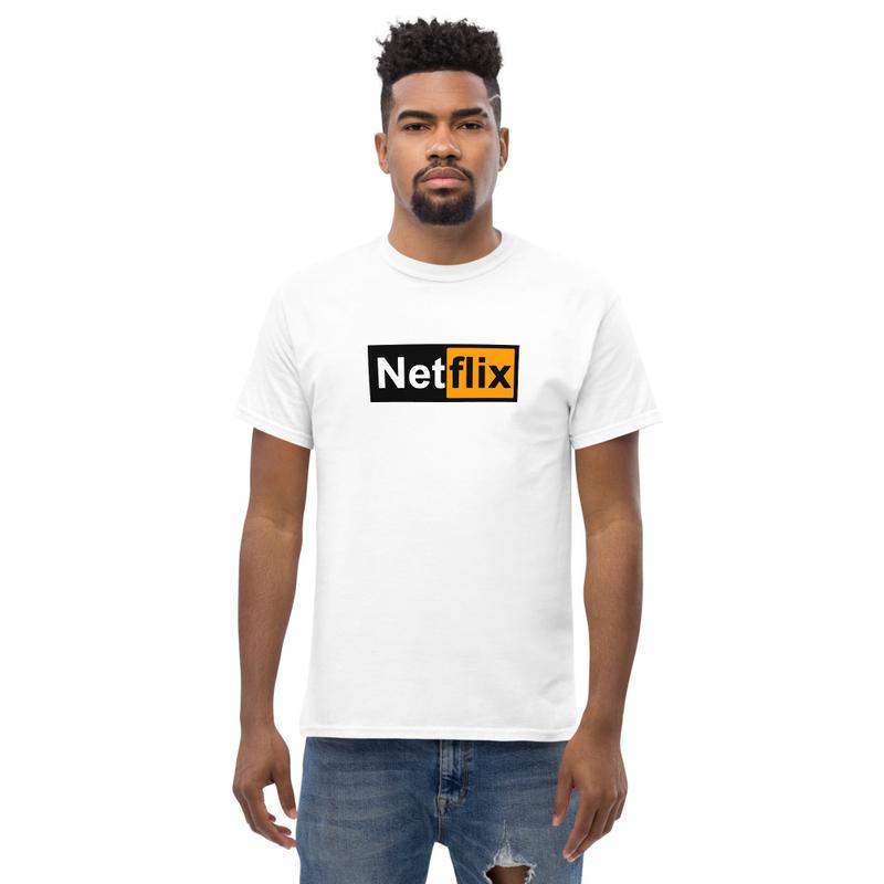 """T-shirt """"NetHub"""" (white)"""