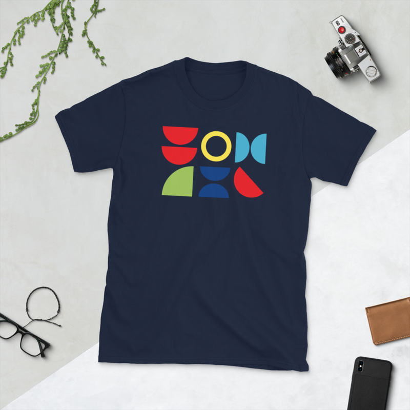 Geo Short-Sleeve Unisex T-Shirt