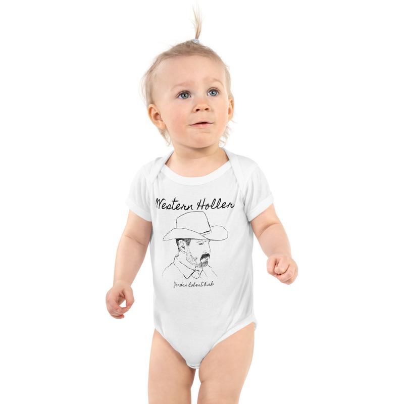 Western Holler Infant Onesie