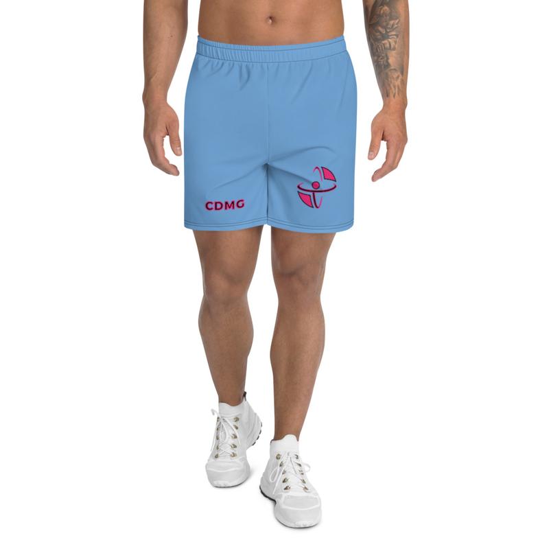 CDMG Men's Athletic Long Shorts/Blue