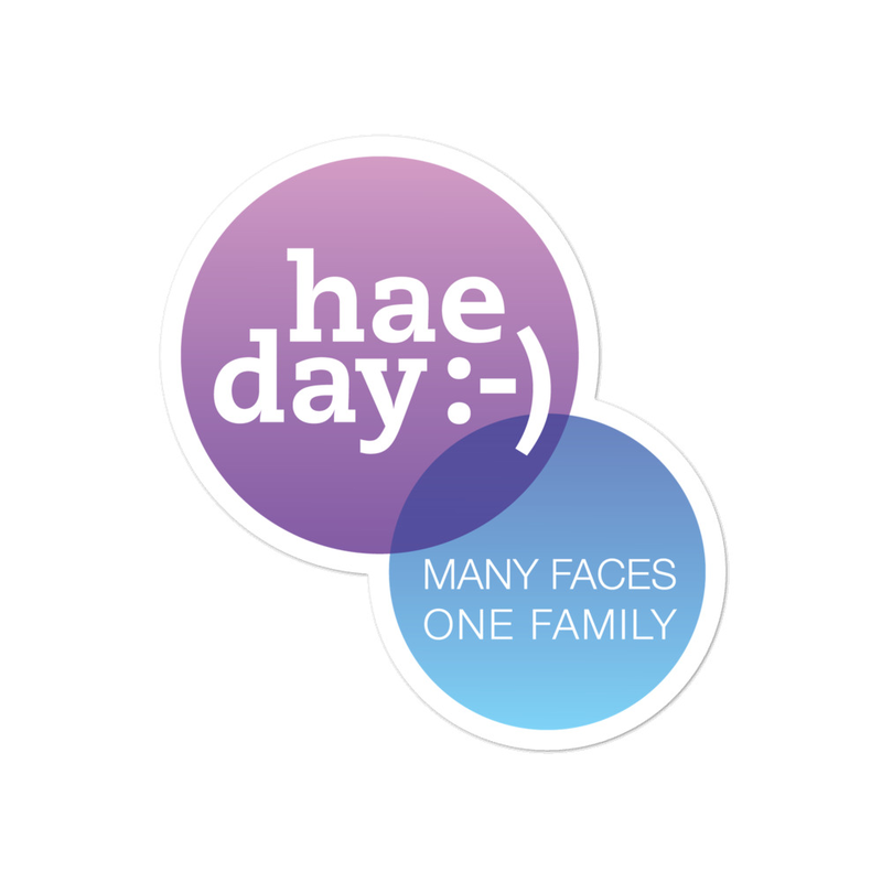 Accessories - hae day :-) Sticker