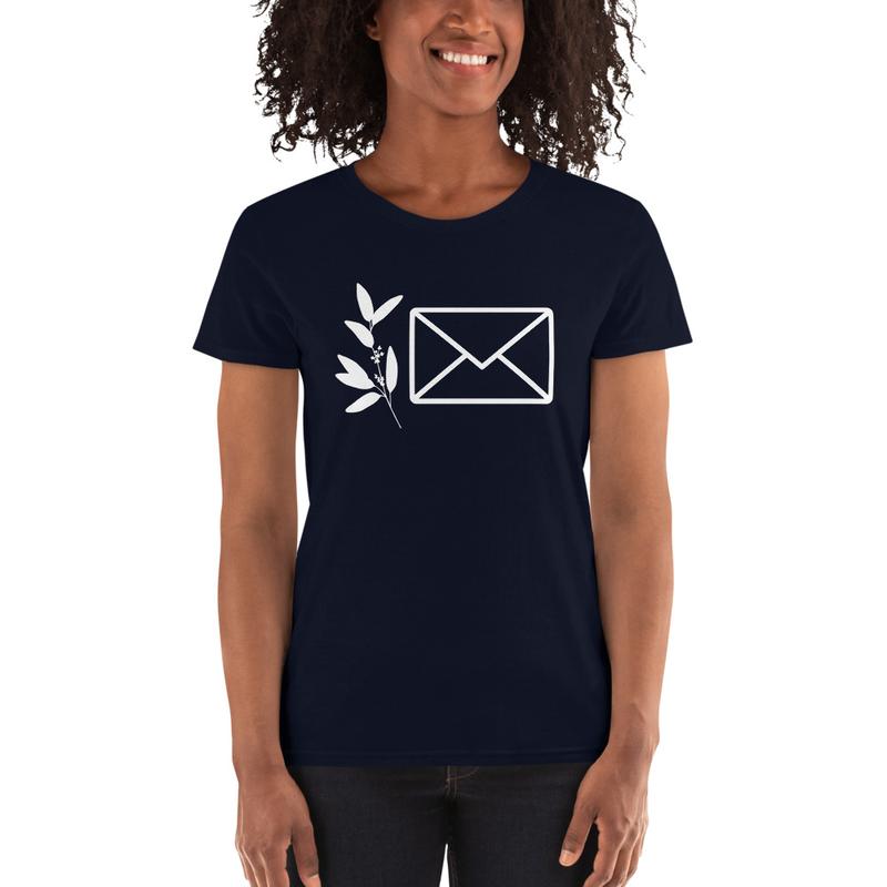 "Women's ""Letters"" Logo T-shirt"