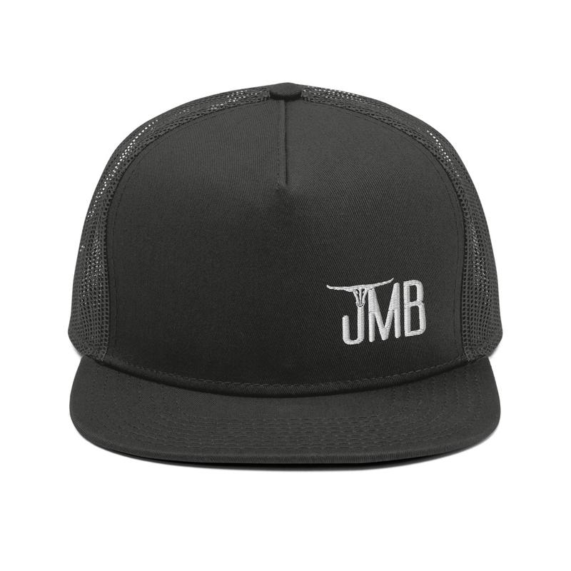 JMB Longhorn Snapback in Black with Logo