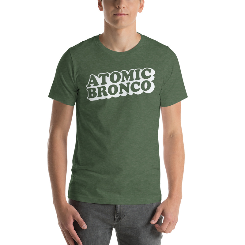 Atomic Bronco White Logo T-Shirt