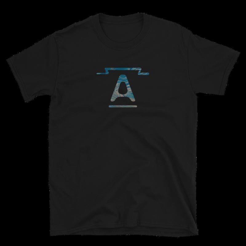 """""""A"""" logo - unisex short-sleeve t-shirt"""