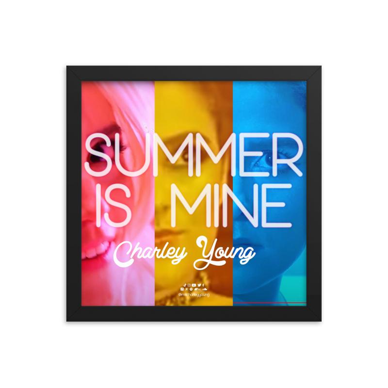 Summer is Mine Framed Poster