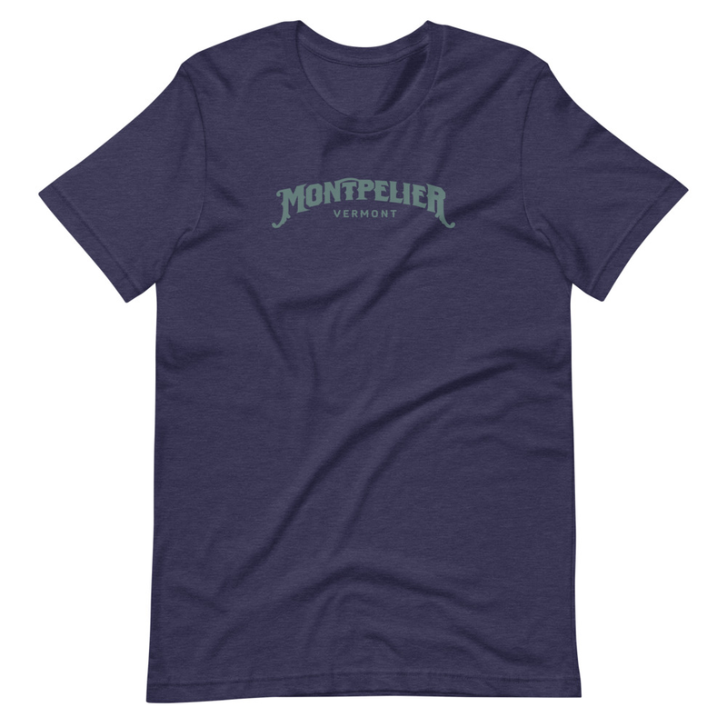 Montpelier Vermont Tee - Short-Sleeve Unisex T-Shirt