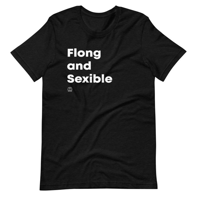 Flong & Sexible Unisex T-Shirt image