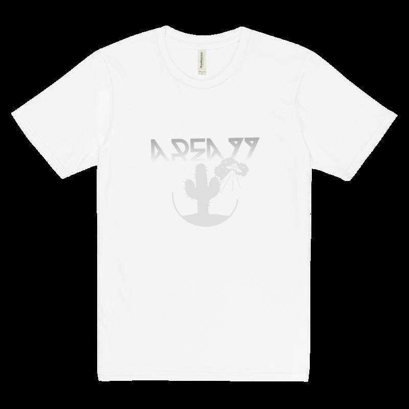 """AREA77"" Crash Site Tour 2022 60% viscose hemp t-shirt"