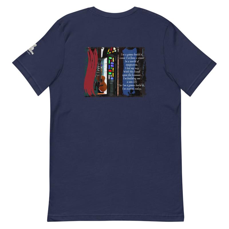 """I'm Gonna Build It"" - TW Lyric Line T-shirt"