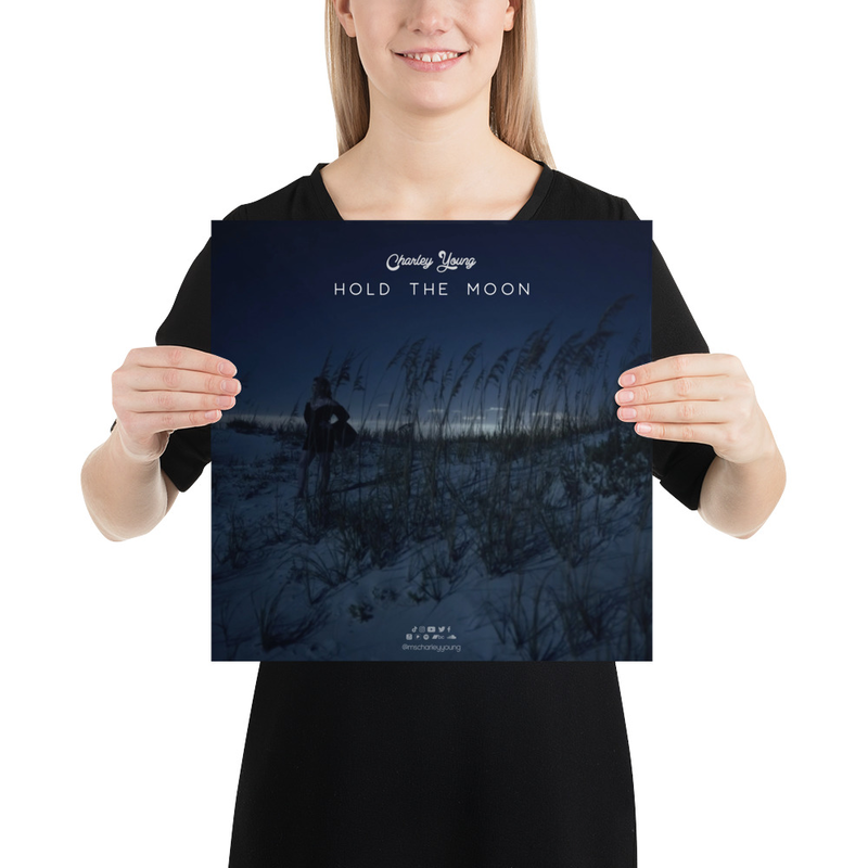 Hold the Moon Poster