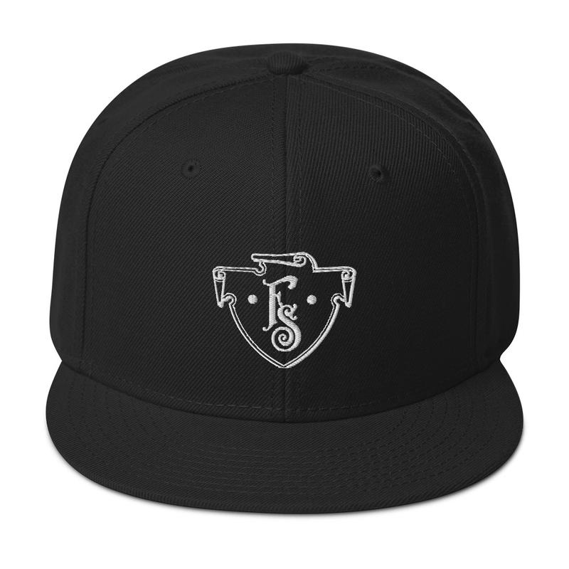 FS Crest Snapback Hat (Black)