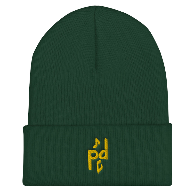 Peter Day Music Logo Cuffed Beanie