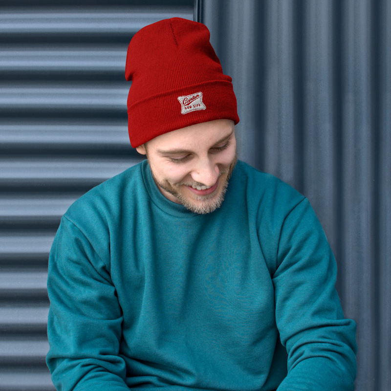 Canton Low Life Embroidered Beanie