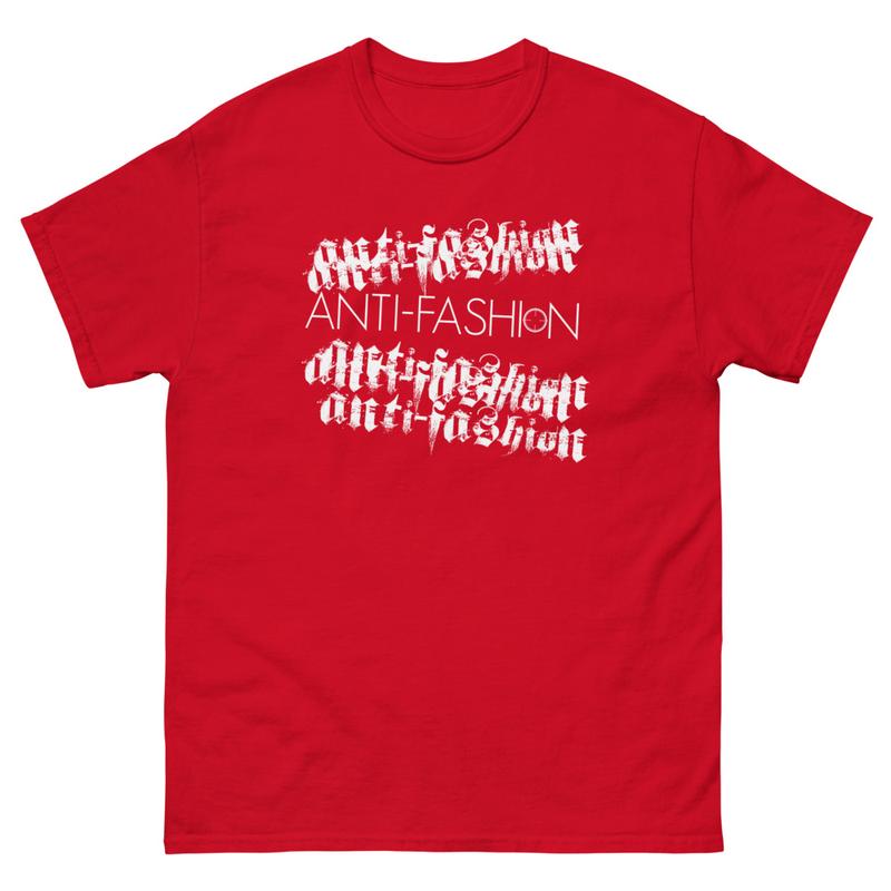 Anti-Fashion Men's heavyweight tee
