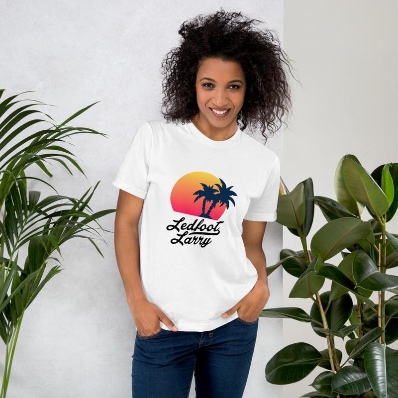 "Ledfoot Larry ""The Island"" | T-Shirt (WHT)"