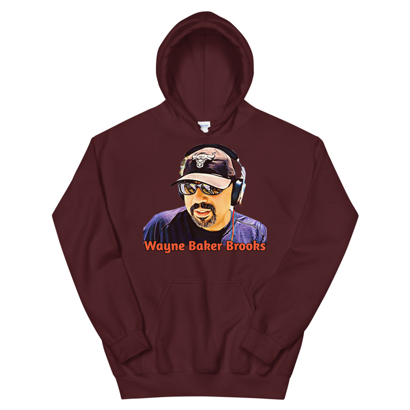 Wayne Baker Brooks Unisex Hoodie 3