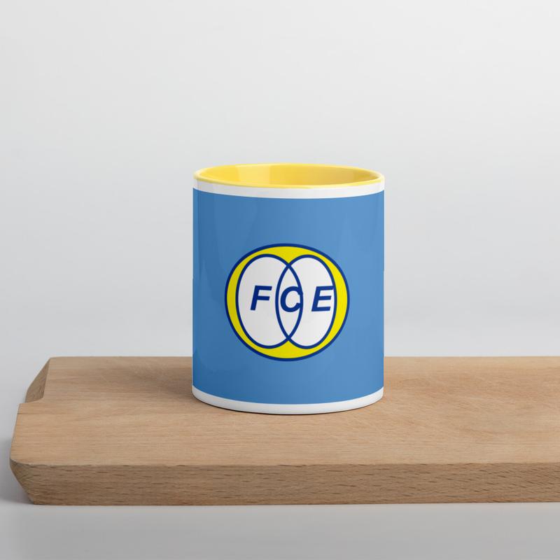 Mug à Intérieur Coloré «FCE»