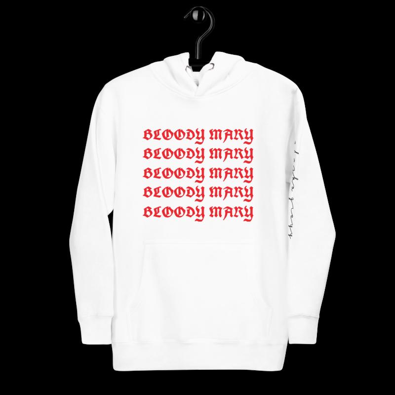 Bloody Mary Unisex Hoodie by Alaska Greyy