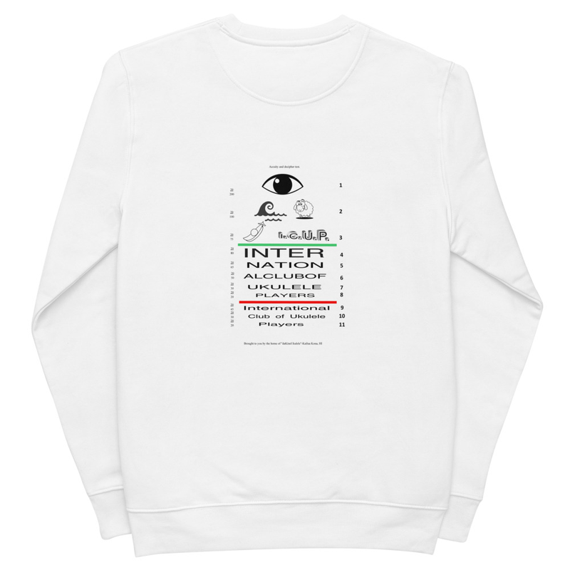 Unisex eco sweatshirt-Light Colors
