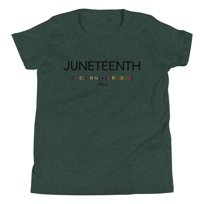 Juneteenth Youth Short Sleeve T-Shirt