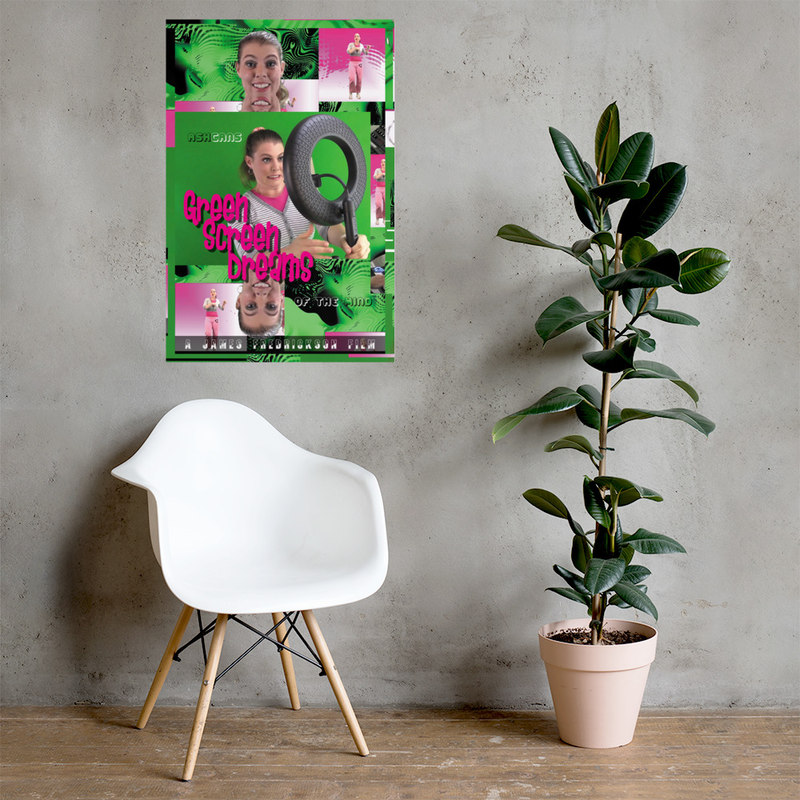 Green Screen Dreams poster 24 in. x 36 in.