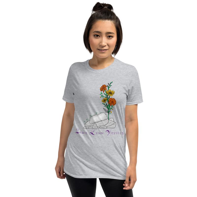 Flowers Short-Sleeve Unisex T-Shirt