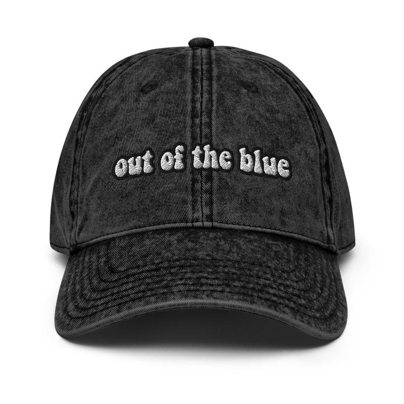 Out of the Blue Vintage Hat