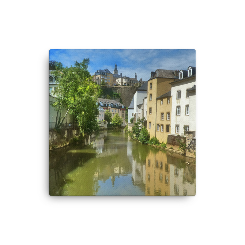 Canvas Vieux Luxembourg