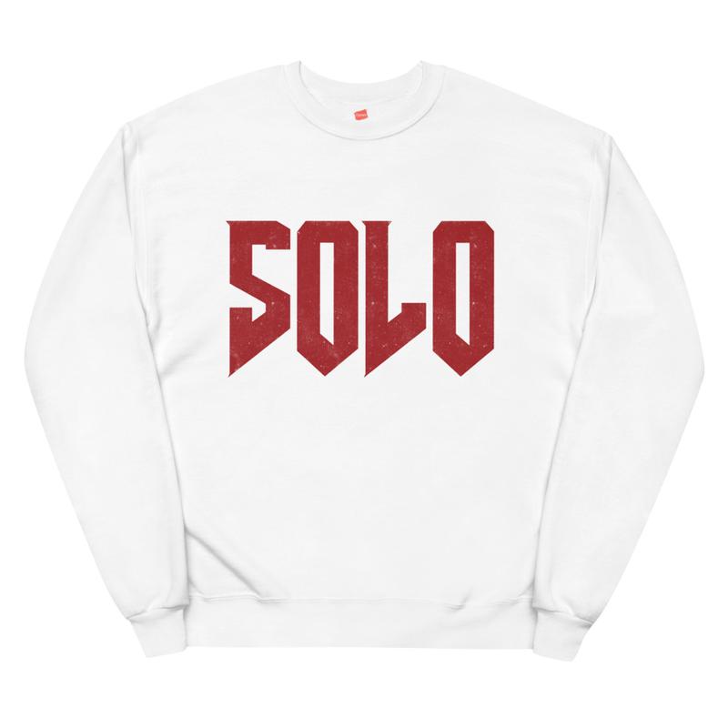 """SOLO"" Official fleece sweatshirt"