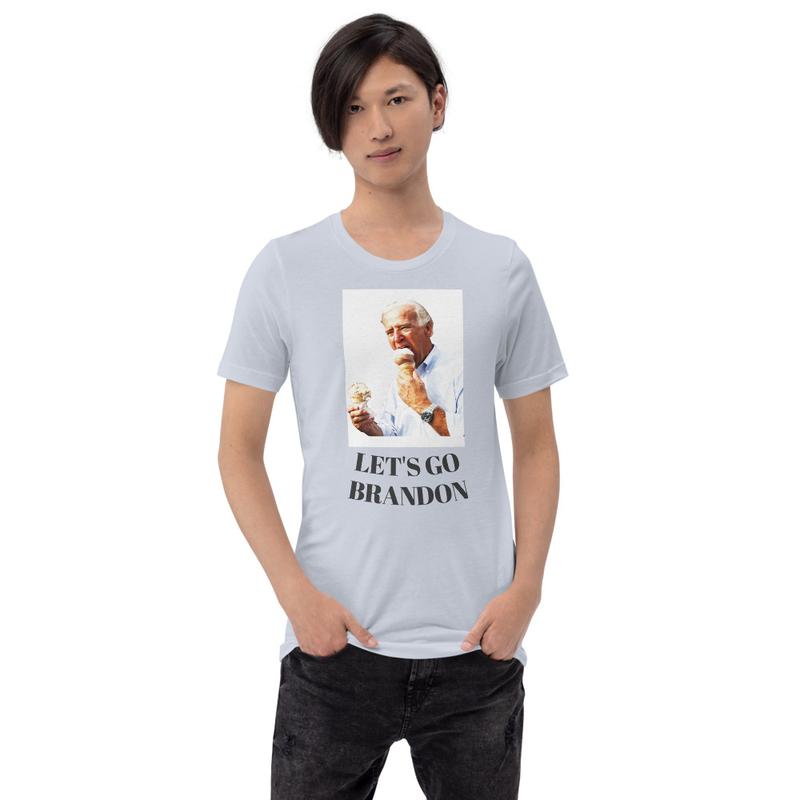 Let's Go Brandon Short-Sleeve Unisex T-Shirt