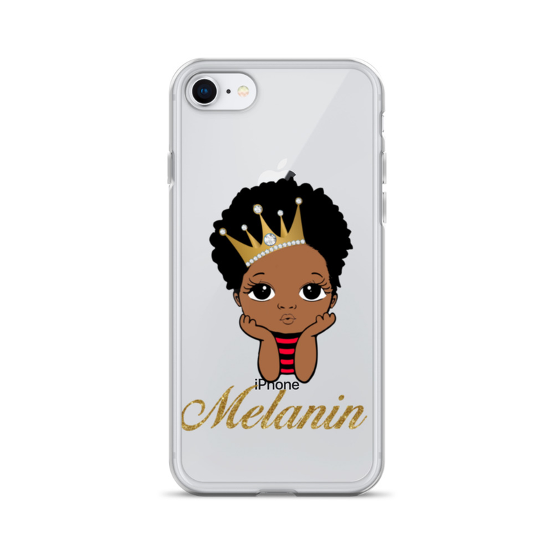 Prince Melanin iPhone Case
