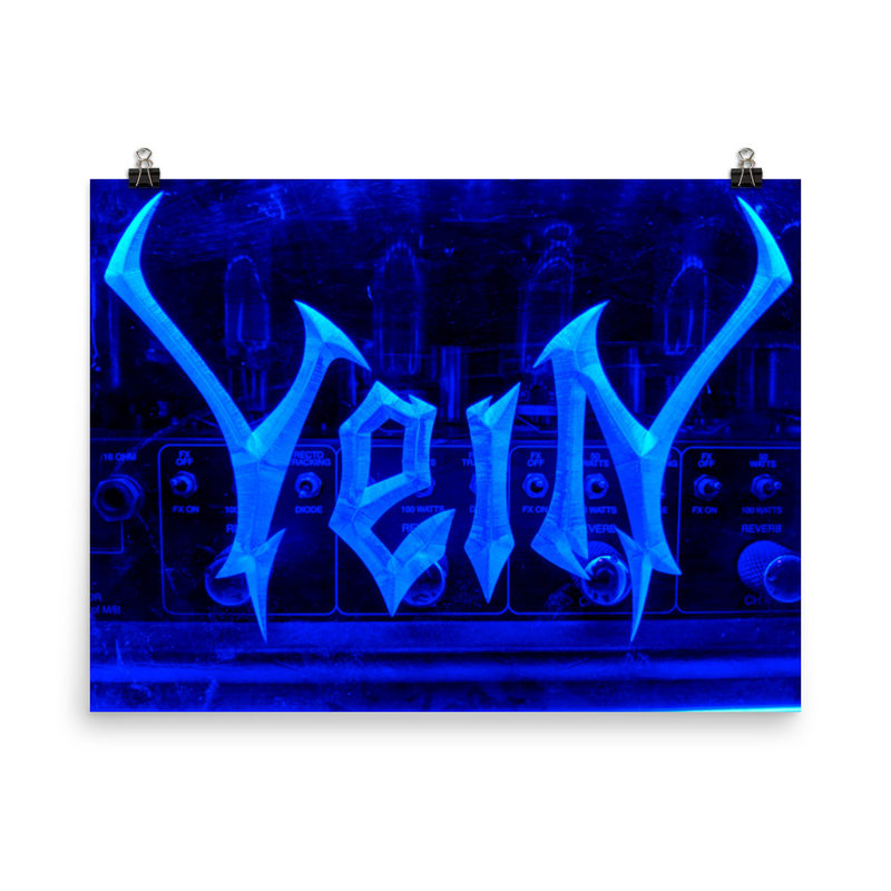VeiN Blueamp Poster